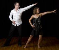 De danser van Salsa royalty-vrije stock afbeelding