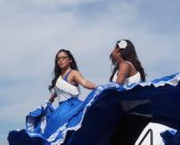 De Dansers van Centraal-Amerika bij de Erfenisdagen 2013 van Edmonton Stock Foto's