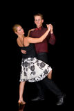 De dansers van de balzaal Stock Afbeelding