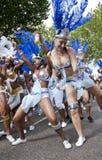 De dansers van de La-Drievuldigheid drijven royalty-vrije stock afbeelding