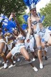 De dansers van de La-Drievuldigheid drijven stock afbeeldingen
