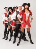 De dansers van de piraat Royalty-vrije Stock Fotografie