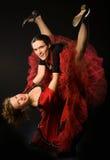 De dansers van de schommeling Stock Fotografie