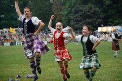 De Dansers van het hoogland Royalty-vrije Stock Fotografie