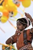 De dansers van India stock foto's