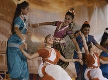 De dansers van India royalty-vrije stock afbeelding