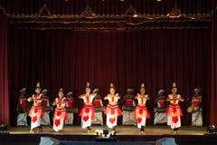 De dansers van Lankan van Sri Stock Afbeelding