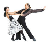 De dansersLatina van het paar stijl Stock Foto's