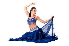 De danserszitting van de buik Royalty-vrije Stock Fotografie