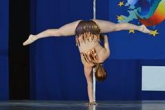 DE DANSkampioenschap VAN EUROPA POOL Royalty-vrije Stock Foto