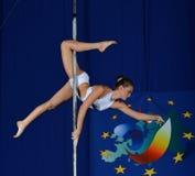 DE DANSkampioenschap VAN EUROPA POOL Stock Foto's