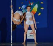 DE DANSkampioenschap VAN EUROPA POOL Royalty-vrije Stock Foto's
