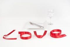 De datum van de liefde Royalty-vrije Stock Afbeelding