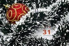 De datum van Kerstmis Stock Foto
