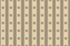 De de beige cirkels en strepen van het behang Royalty-vrije Stock Foto's