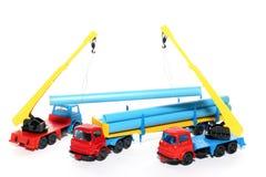 De de bouwwerken 2 van het stuk speelgoed Stock Foto