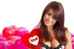 De de dagberoemdheden van Valentijnskaarten Royalty-vrije Stock Afbeeldingen