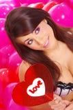 De de dagberoemdheden van Valentijnskaarten Royalty-vrije Stock Foto's