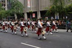 De de Dagparade NYC 3 van India van 2015 Royalty-vrije Stock Fotografie