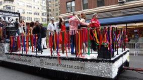 De de Dansparade New York 53 van 2013 stock foto's