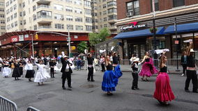 De de Dansparade New York 149 van 2013 Stock Foto