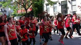 De de Dansparade New York 26 van 2014 Stock Foto