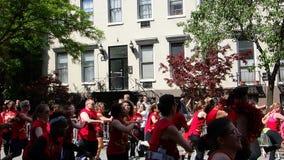De de Dansparade New York 28 van 2014 Royalty-vrije Stock Fotografie