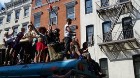 De de Dansparade New York 42 van 2014 Stock Foto's