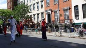 De de Dansparade New York 43 van 2014 Royalty-vrije Stock Afbeelding