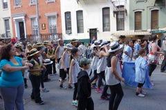 De de Dansparade New York 61 van 2014 Stock Foto's