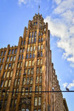 De de Eenheidsbouw van Manchester Royalty-vrije Stock Afbeelding