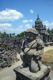 de 9de eeuw Hindoese tempel Prambanan op Java Island Stock Afbeeldingen