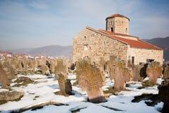 de 9de eeuw Servische Orthodoxe Kerk royalty-vrije stock afbeelding