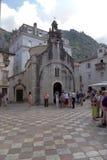 de 12de eeuwkerk van St. Lucas Stock Foto's