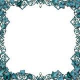 De de grenswijnstokken van Fairytale bloeien geïsoleerda Royalty-vrije Stock Foto's