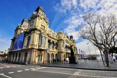 De de havenbouw van Barcelona Royalty-vrije Stock Foto's