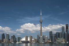 De de Havenvoorzijde Van de binnenstad van Toronto Stock Afbeeldingen