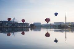 De 5de Internationale Fiesta van de de Hete Luchtballon van Putrajaya Royalty-vrije Stock Afbeeldingen
