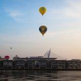 De 5de Internationale Fiesta van de de Hete Luchtballon van Putrajaya Stock Afbeelding