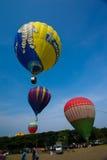 De 5de Internationale Fiesta van de de Hete Luchtballon van Putrajaya Stock Fotografie