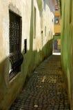 De de Kabelstraat van de Koordstraat is de smalste straat in c Royalty-vrije Stock Foto