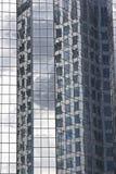 De de moderne gebouwen en architectuur van het Glas Stock Foto's