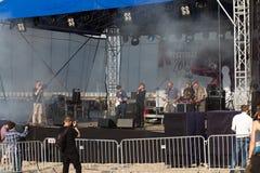 de 10de muziek van het bottenfestival. Stock Foto