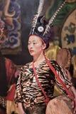 De de muziekcultuur van de Naximinderheid toont, Lijiang, China royalty-vrije stock afbeeldingen
