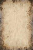De de oude Textuur/Achtergrond van het Document Stock Foto's