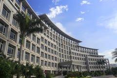 De de overheidsbouw van het Haicangdistrict Stock Foto