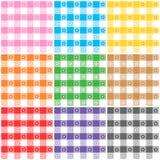 De de patronenlente van de gingang Royalty-vrije Stock Afbeeldingen