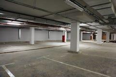 De de plaatsbouw van het parkeren. royalty-vrije stock afbeeldingen