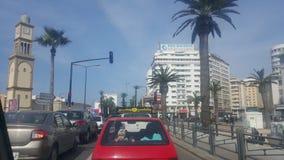 De de plaatsv.n. van Casablanca Stock Afbeeldingen