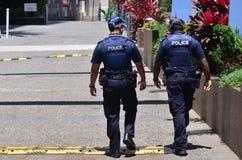 De de Politiedienst van Queensland (QPS) - Australië Royalty-vrije Stock Afbeeldingen